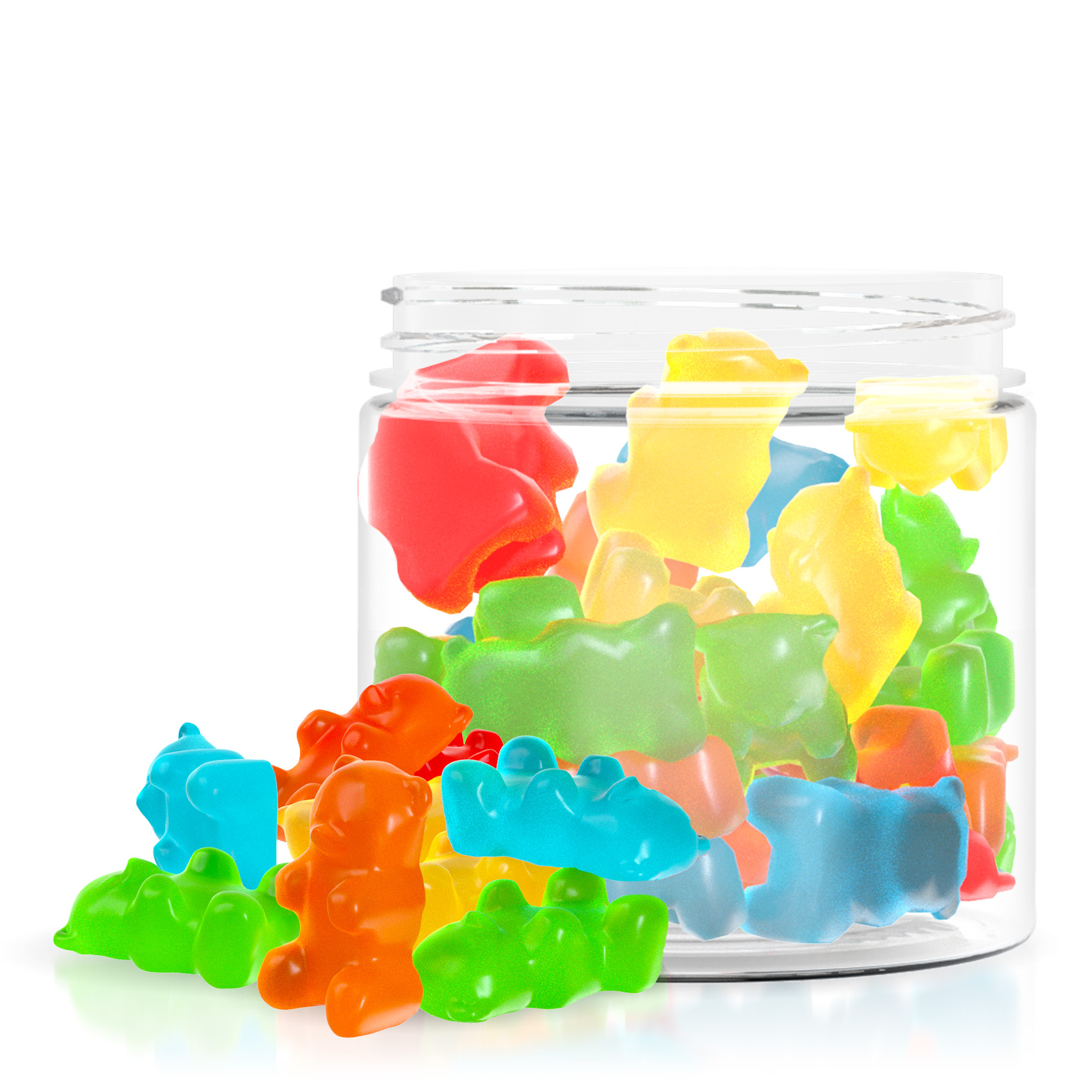 Relax Gummies - CBD Infused Gummy Bears - 250mg