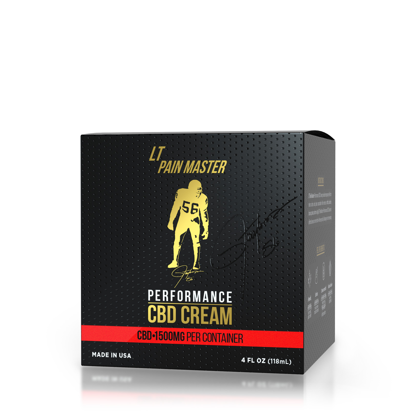 Lawrence Taylor - Pain Master CBD Cream - 1500mg