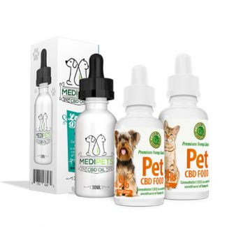 We offer a diverse selection of CBD products made specifically for your pets. These high quality CBD oil for dogs and CBD oils for cats are available for pets of all sizes.